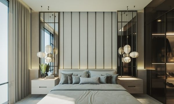 contemporary bedroom uk